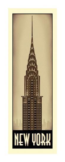New York-Steve Forney-Giclee Print