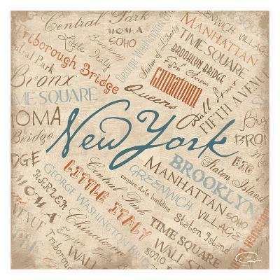 New York-OnRei-Art Print