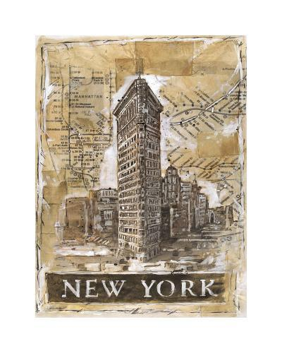 New York-Marta Wiley-Giclee Print