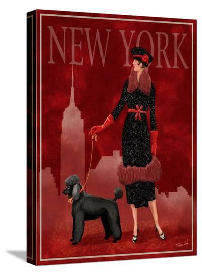 New York-Tom Wood-Stretched Canvas Print