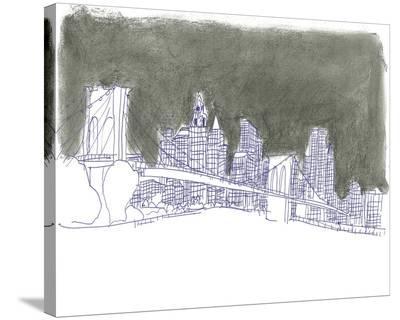 New York-Katrien Soeffers-Stretched Canvas Print