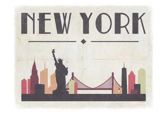 New York-Gigi Louise-Art Print