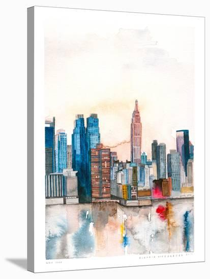 New York--Stretched Canvas Print