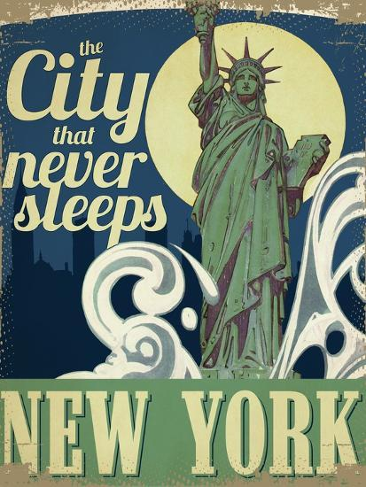 New York--Giclee Print