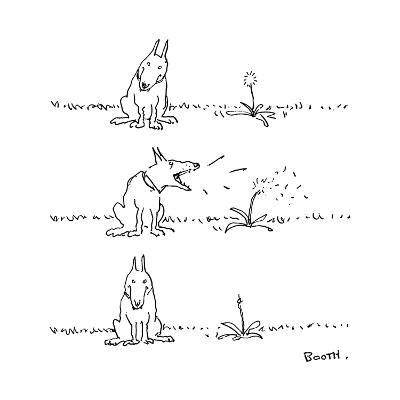 New Yorker Cartoon-George Booth-Premium Giclee Print