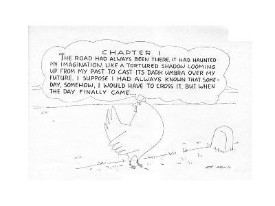 New Yorker Cartoon-Ed Arno-Premium Giclee Print