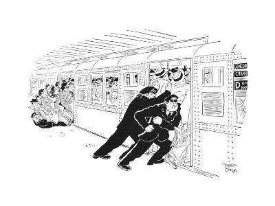 New Yorker Cartoon-Robert J. Day-Premium Giclee Print