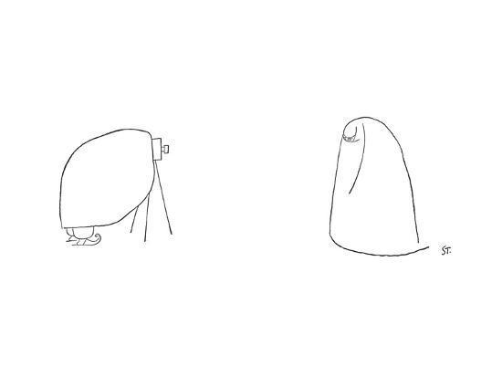 New Yorker Cartoon-Saul Steinberg-Premium Giclee Print