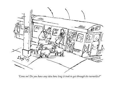 New Yorker Cartoon-Sidney Harris-Premium Giclee Print