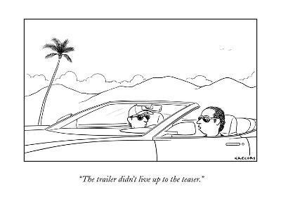 New Yorker Cartoon-Alex Gregory-Premium Giclee Print