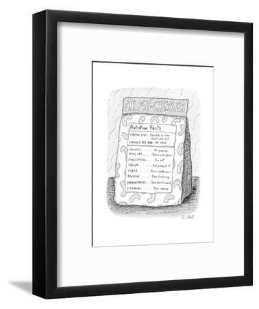 New Yorker Cartoon-Roz Chast-Framed Premium Giclee Print