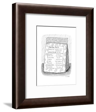 New Yorker Cartoon-Roz Chast-Framed Premium Giclee Print
