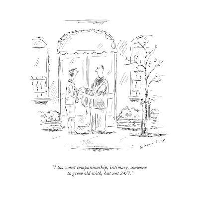 New Yorker Cartoon-Barbara Smaller-Premium Giclee Print