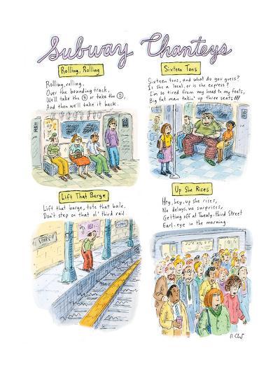 New Yorker Cartoon-Roz Chast-Premium Giclee Print