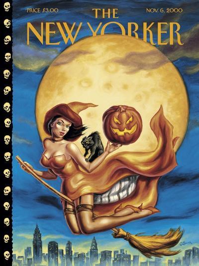 New Yorker Cover - November 06, 2000-Owen Smith-Premium Giclee Print