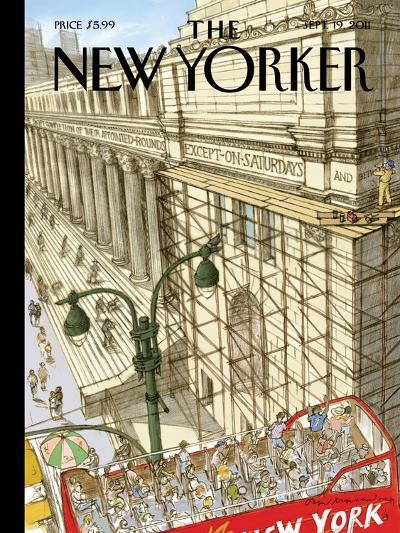 New Yorker Cover - September 19, 2011-David Macaulay-Premium Giclee Print