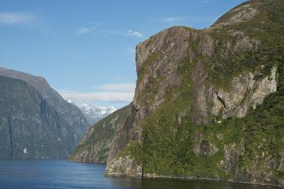 New Zealand, Fiordland National Park, Milford Sound, known as Piopiotahi-Cindy Miller Hopkins-Photographic Print