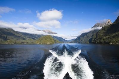 New Zealand's Doubtful Sound, Ferry Crossing Lake Manapouri-Micah Wright-Photographic Print