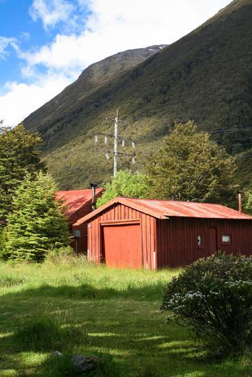 New Zealand, South Island, Arthur's Pass National Park, Barn-Catharina Lux-Photographic Print