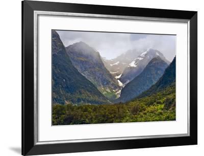 New Zealand, South Island, Fiordland National Park, Milford Sound-Rona Schwarz-Framed Photographic Print