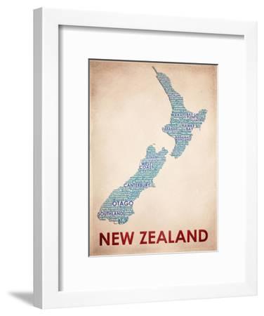New Zealand--Framed Art Print