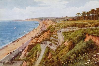 New Zig-Zag West Cliff, Bournemouth-Alfred Robert Quinton-Giclee Print