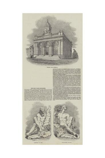Newark Corn Exchange--Giclee Print