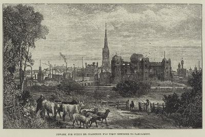 Newark, for Which Mr Gladstone Was First Returned to Parliament-James Burrell Smith-Giclee Print