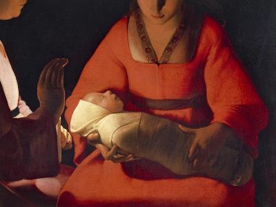 Newborn, 1645-1648-Georges de La Tour-Giclee Print