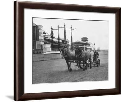 Newbury Race Course--Framed Photographic Print