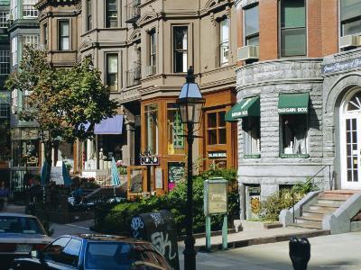 Newbury Street, Boston's Premier Shopping Street, Back Bay, Boston, Massachusetts, USA-Fraser Hall-Photographic Print