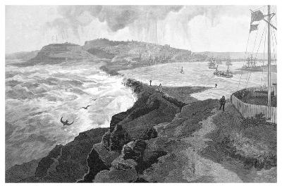 Newcastle, from Nobby's Head, New South Wales, Australia, 1886--Giclee Print