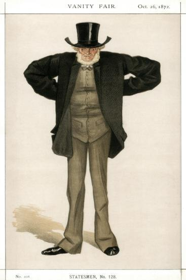 Newcastle on Tyne, Joseph Cowen, British Politician, 1872-Coide-Giclee Print