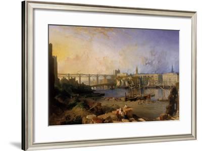 Newcastle Upon Tyne, 1862-63-Edmund John Niemann-Framed Giclee Print