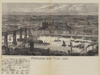 Newcastle Upon Tyne, 1887--Giclee Print