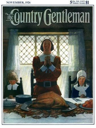 """""""An Early Thanksgiving,"""" Country Gentleman Cover, November 1, 1926"""