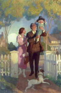 Arriving Home by Newell Convers Wyeth