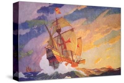 Columbus Crossing the Atlantic, 1927