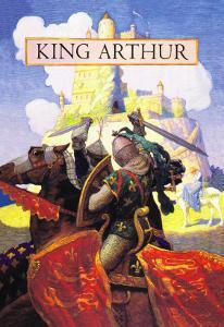 King Arthur by Newell Convers Wyeth