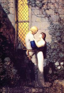 Oh, Gentle Knight by Newell Convers Wyeth