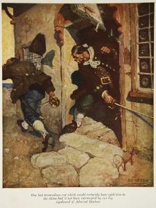 One Last Tremendous Cut Which Would Certainly Have Split Him to the Chine by Newell Convers Wyeth