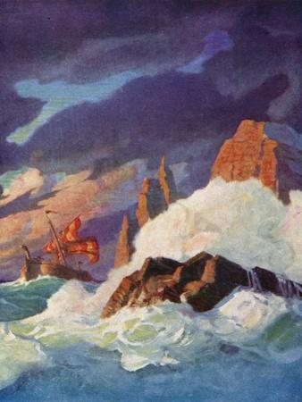 The Storm on the Firth of Clyde