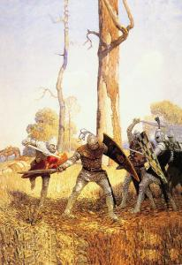 They Fought with Him by Newell Convers Wyeth