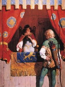 Wyeth: Robin Hood & Marian by Newell Convers Wyeth
