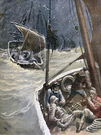 Newfoundland Fishermen, 1892-Henri Meyer-Giclee Print