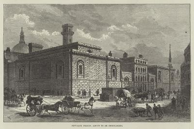 Newgate Prison, About to Be Demolished-Frank Watkins-Giclee Print