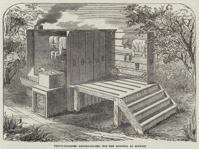 Newly-Invented Drying-Closet, for the Hospital at Scutari--Giclee Print
