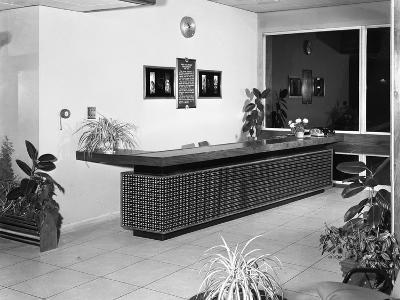 Newly Refurbished Reception, Park Gate Iron and Steel Co, Rotherham, South Yorkshire, 1966-Michael Walters-Photographic Print