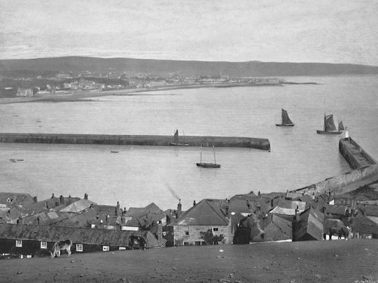 'Newlyn, near Penzance', c1896-Unknown-Photographic Print