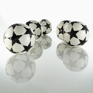 Five Soccer Balls by Newmann